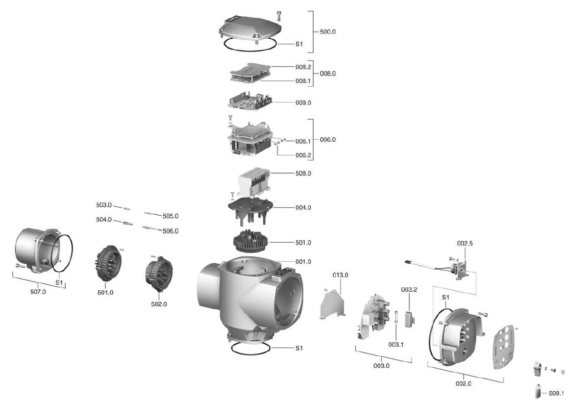 Auma matic схема подключения фото 460