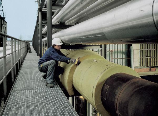 Минеральная вата - теплоизоляция для труб