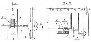 Gidrozatvor v kollektore