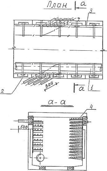 Truby pod uglom 45 vkhodyat v kollektor