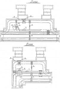 Ustanovka ventilyatorov v kollektore